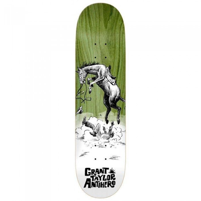 """Anti Hero Taylor How The West Skateboard Deck Various Wood Stains 8.5"""""""