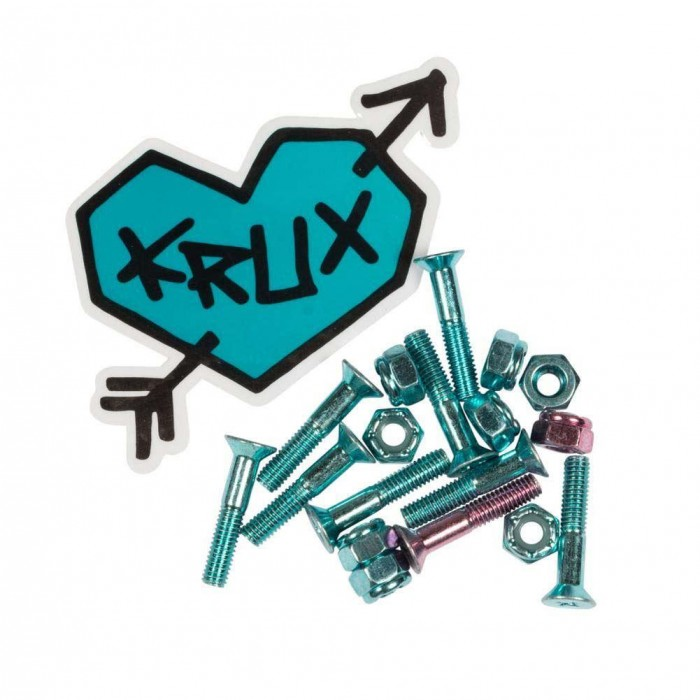 Krux Krome Bolts Phillips Hardware Blue 1""