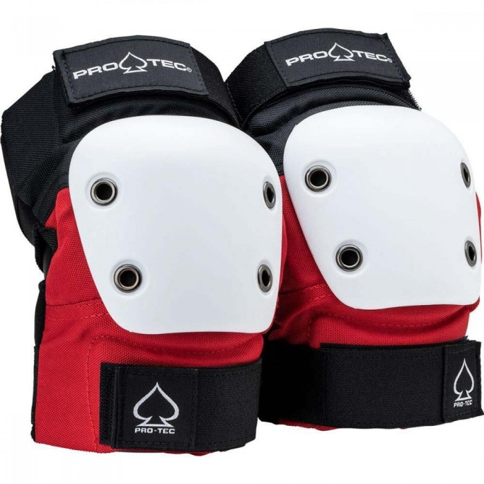 Pro-Tec Pads Street Elbow Pads Junior Red White Black Y YOUTH