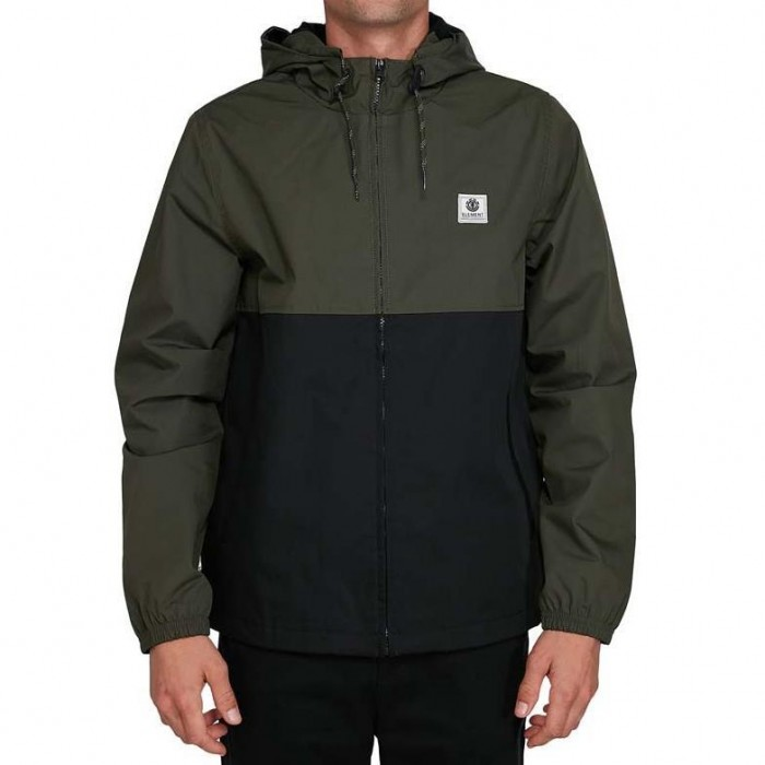 Element Alder Two Tones Jacket Flint Black