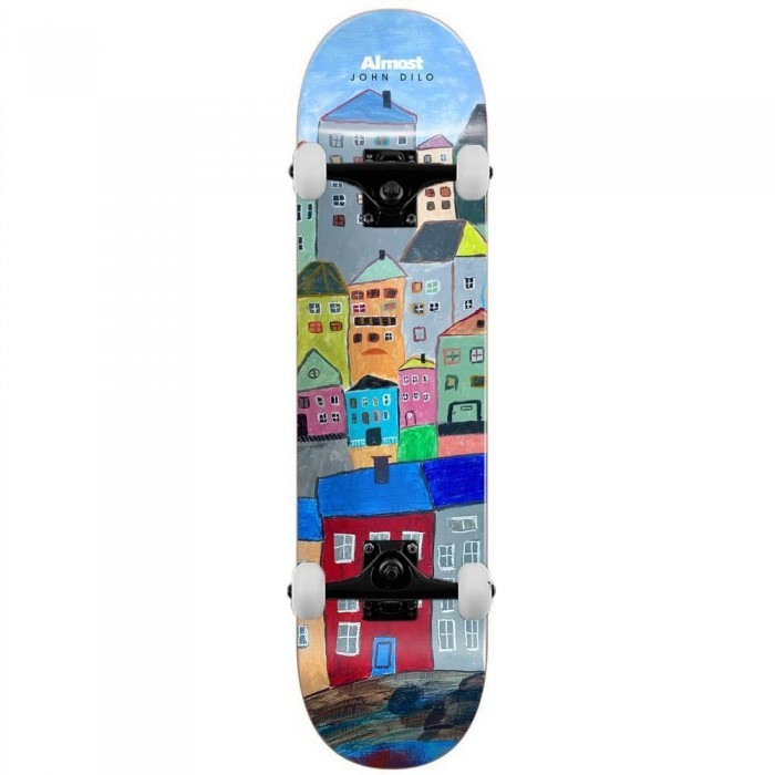 """Almost Dilo Places Complete Skateboard Multi Left 8.125"""""""