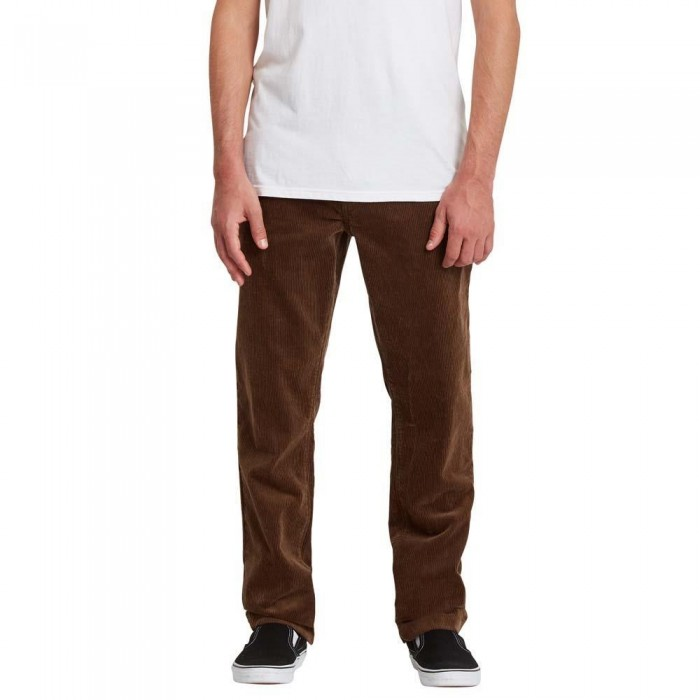 Volcom Louie Lopez Tapered Cord Pants Dark Earth