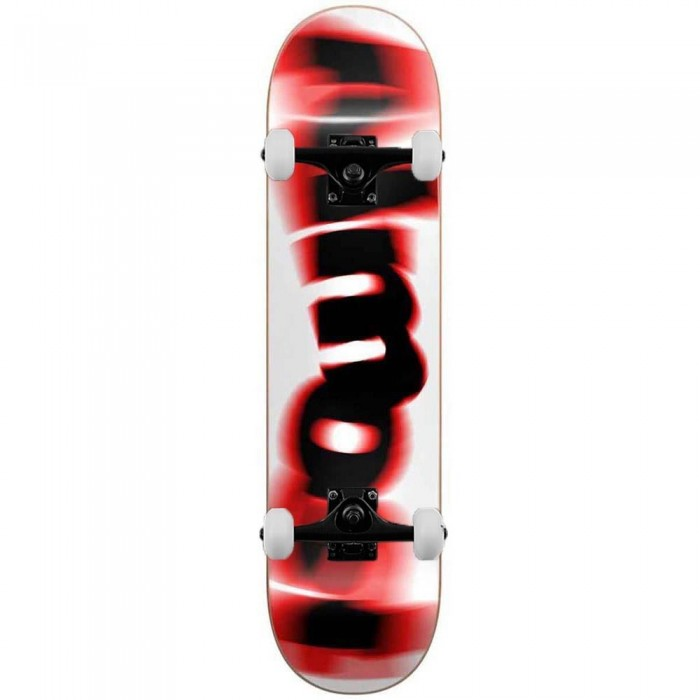"""Almost Spin Blur Logo Complete Skateboard Red 7.75"""""""