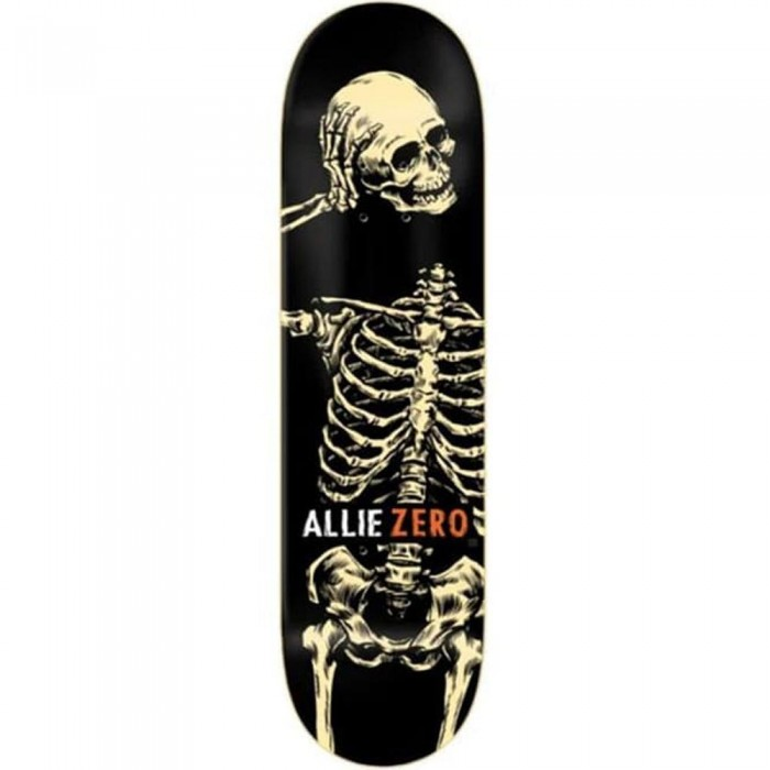 Zero Skateboards Allie Headcase Skateboard Deck Black 8.25""