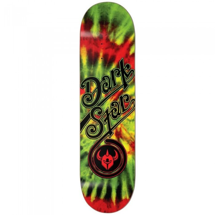 Darkstar Insignia Aqua Youth Skateboard Deck Rasta 7.25""