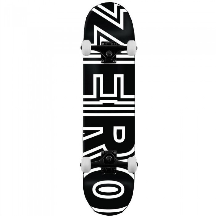 Zero Skateboards Bold Complete Skateboard Black 8.25""