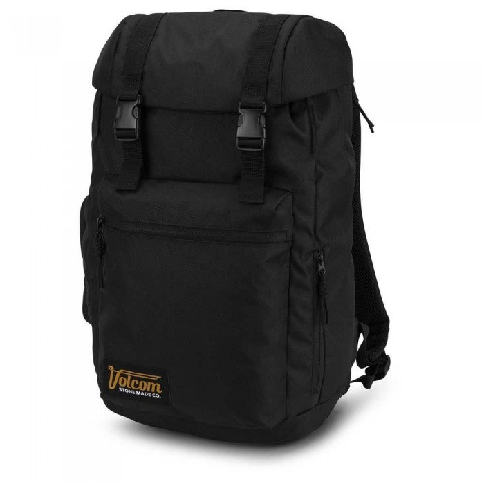 Volcom Ruckfold Backpack Bag Ink Black