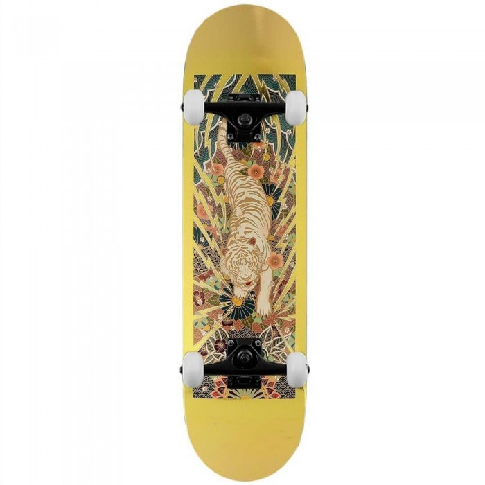 """Real Ishod Wilson Guest Complete Skateboard Gold 8.18"""""""