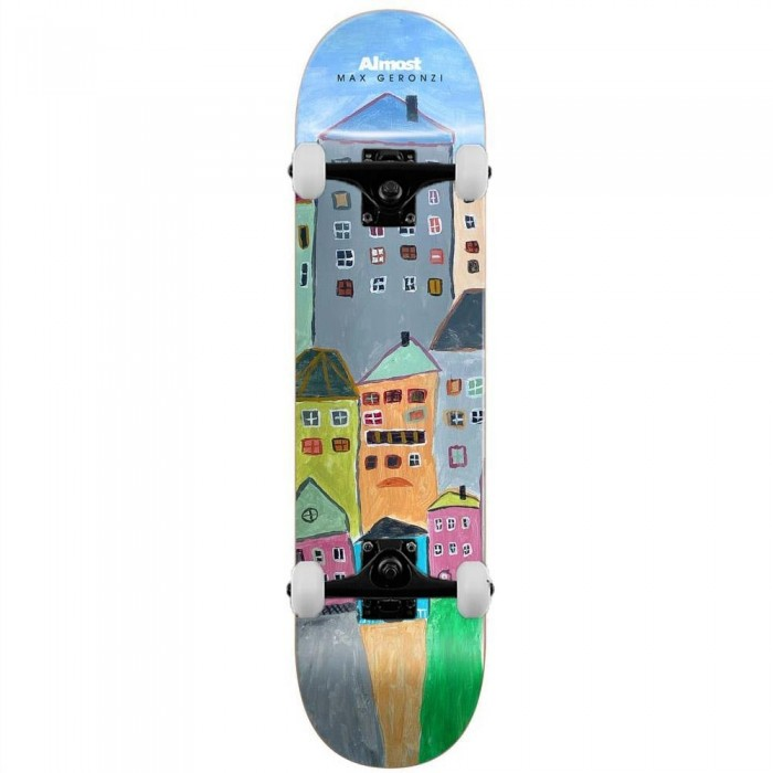 """Almost Max Places Complete Skateboard Multi Left 8.5"""""""