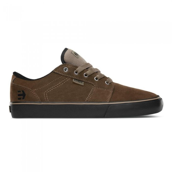 Etnies Footwear Barge LS Olive Black Skate Shoes