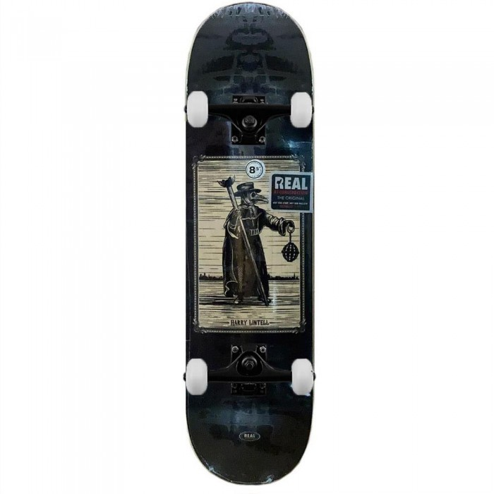 """Real Deck New Pro One Off Harry Lintell Complete Skateboard 8.5"""""""