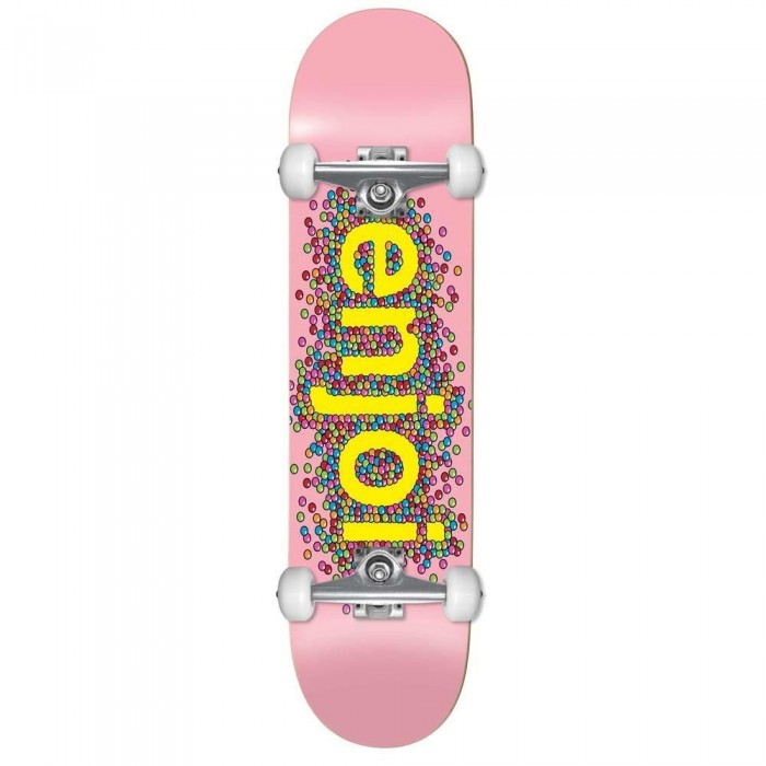 """Enjoi Candy Coated Factory Complete Skateboard Pink 8.25"""""""