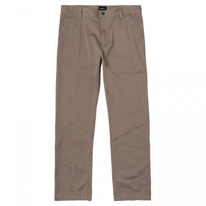 RVCA The Weekend Stretch Pants Dark Khaki