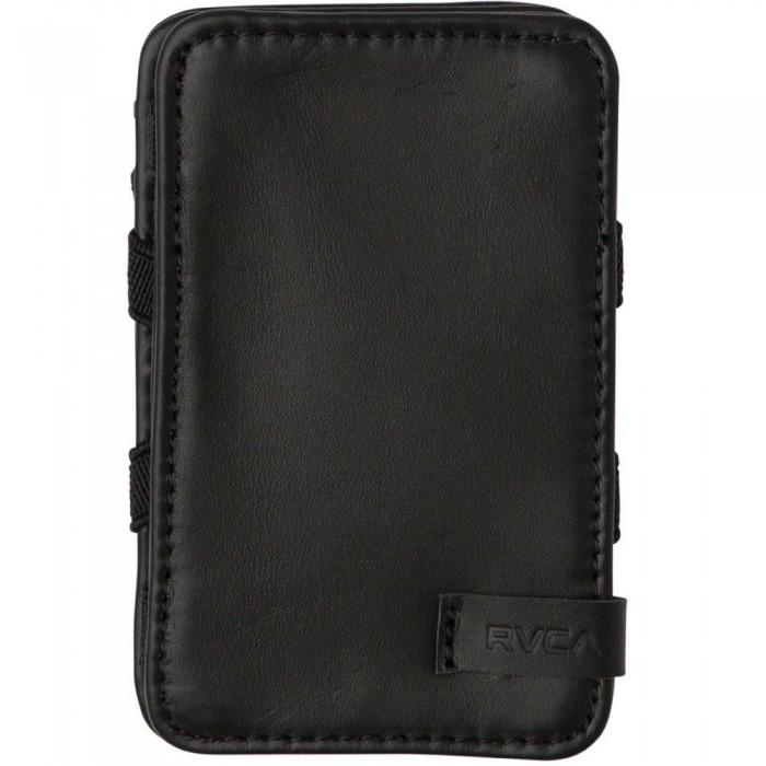 RVCA Leather Magic Wallet Black