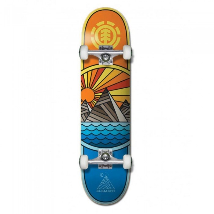 """Element Rise And Shine Factory Complete Skateboard Multi 8"""""""