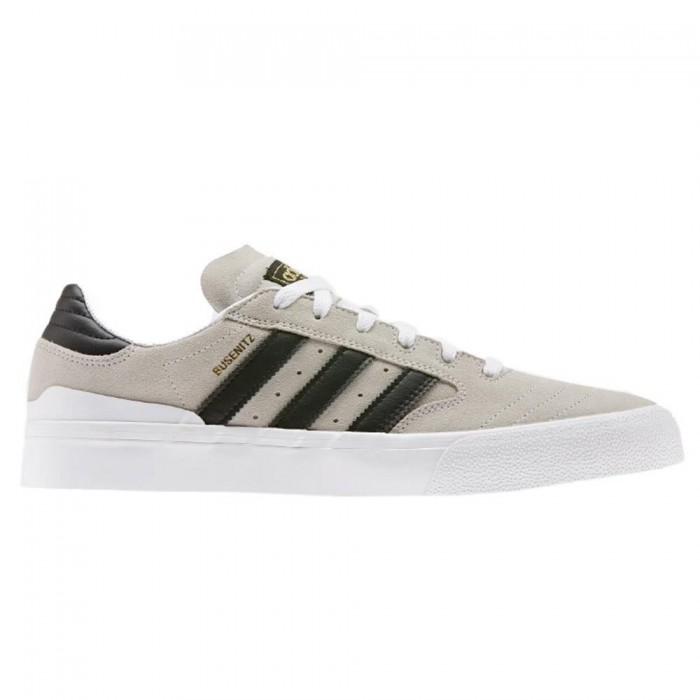 Adidas Skateboarding Busenitz Vulc II Feather White Core Black Gum Skate Shoes