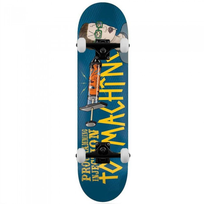 """Toy Machine Programming Injection Complete Skateboard Blue 8.13"""""""