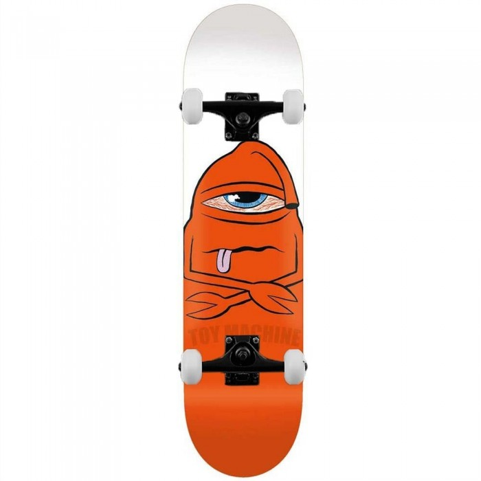"""Toy Machine Skateboards Bored Sect Complete Skateboard White 8"""""""