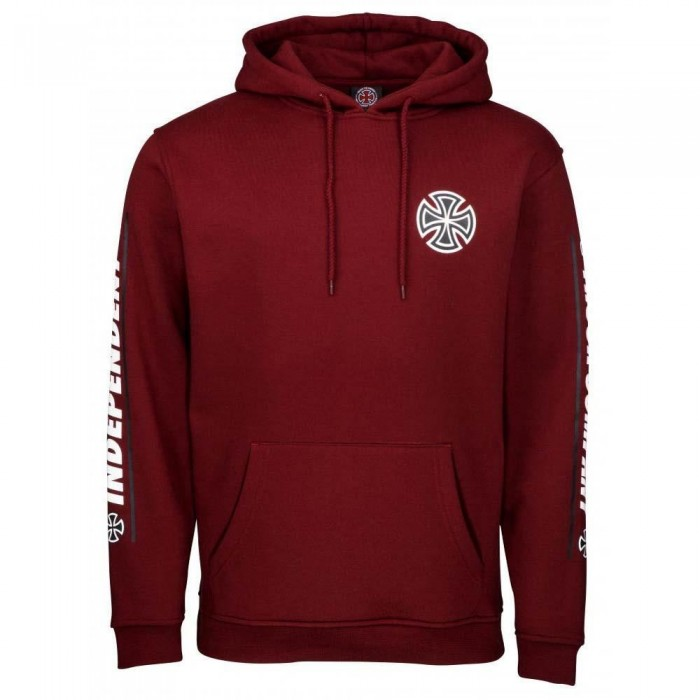 Independent Truck Co Shear Hooded Sweatshirt Burgundy