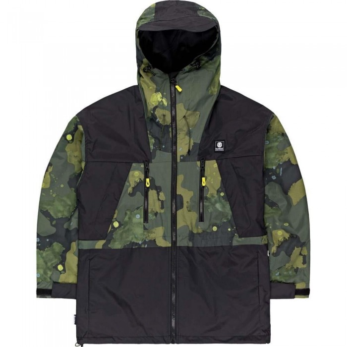 Element Koto Parka Jacket Paint Camo