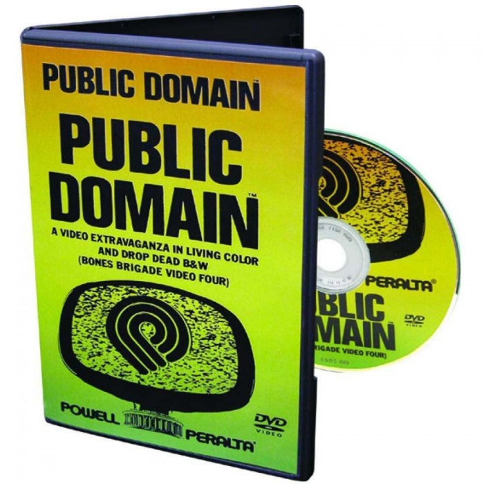 Powell Public Domain Skateboard DVD
