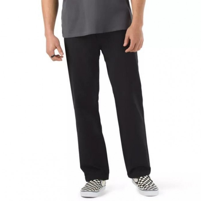Vans Skate Authentic Chino Pants Relaxed Trousers Black