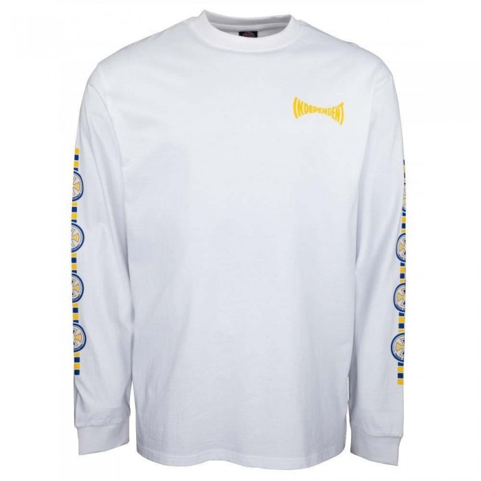 Independent Truck Co Tiled Longsleeve T-Shirt White