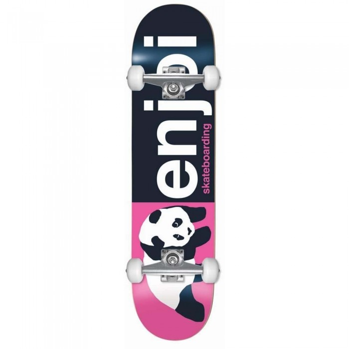 Enjoi Half And Half Factory Complete Skateboard Pink 8""