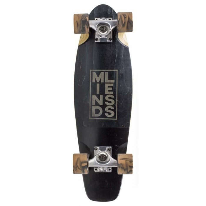 """Mindless Stained Daily III Factory Complete Cruiser Skateboard Black 7"""" x 24"""""""