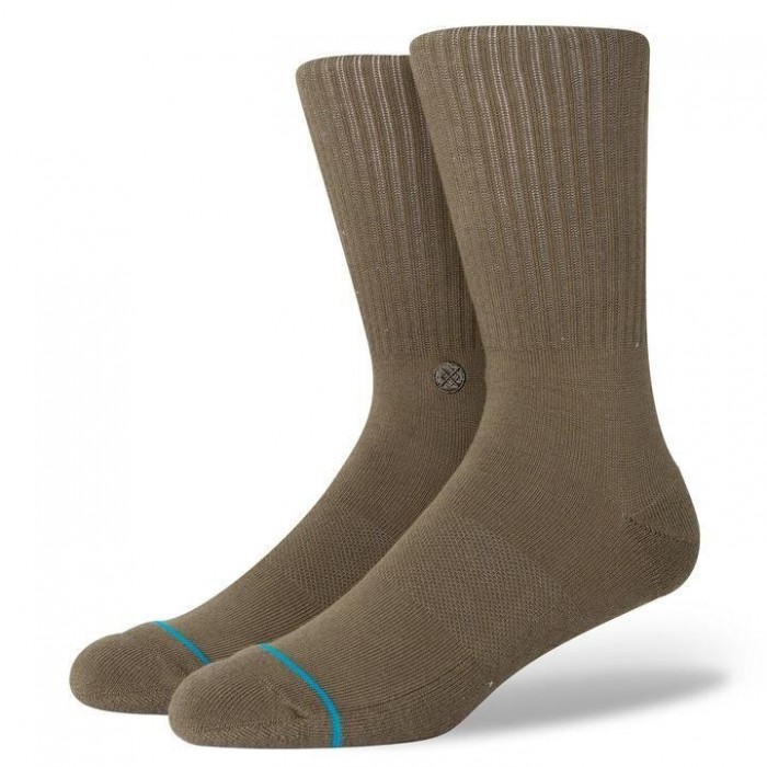 Stance Socks Icon Green Large