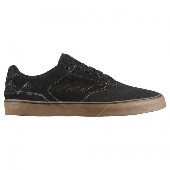 Emerica Footwear Reynolds Low Vulc Grey Black Gum Skate Shoes