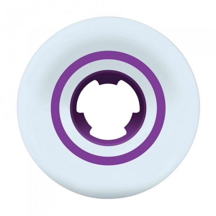 Ricta Speedrings Slim Skateboard Wheels 99a White Purple 52mm