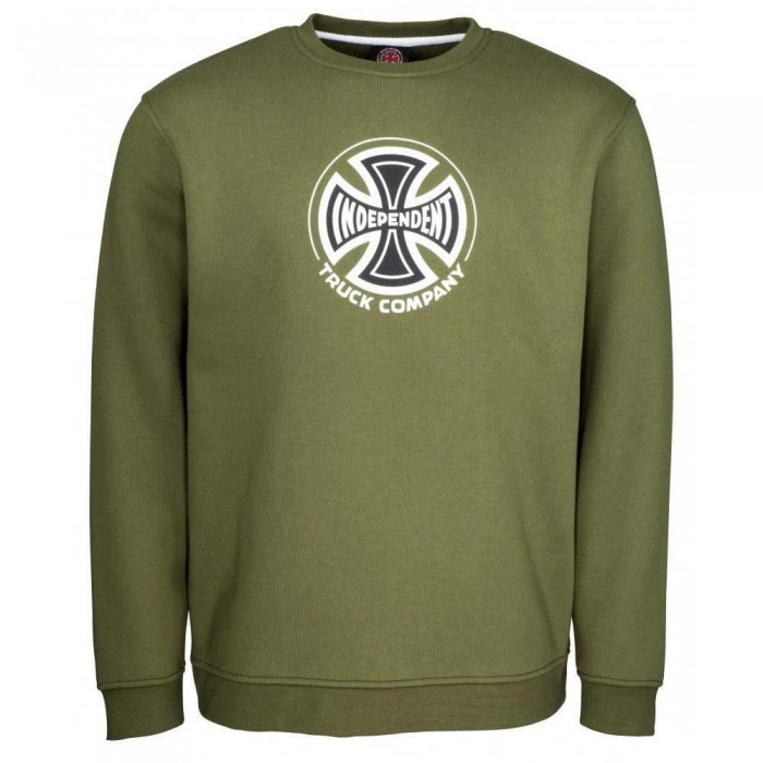 Independent Truck Co Crewneck Sweatshirt Army Green