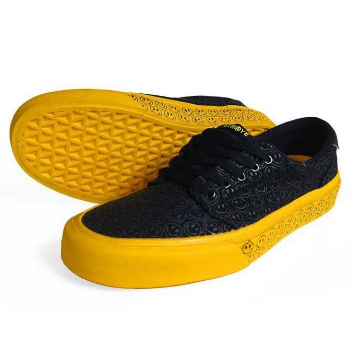 Straye Footwear Fairfax Trippy Smiles Skate Shoes