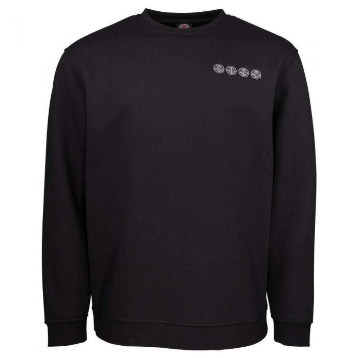 Independent Truck Co Chain Cross Crewneck Sweatshirt Black