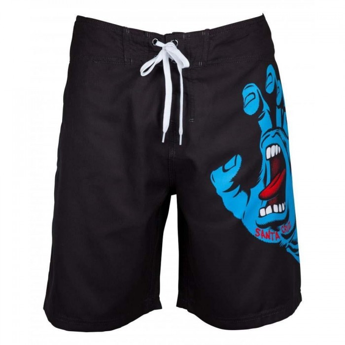 Santa Cruz Boardshorts Screaming Hand Boardie Black
