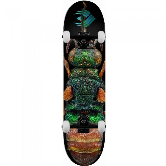"""Powell Peralta Flight LB Ruby Tailed Wasp 244 Complete Skateboard Multi 8.5"""""""