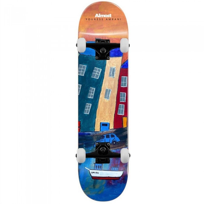 """Almost Youness Places Complete Skateboard Left Multi 8"""""""