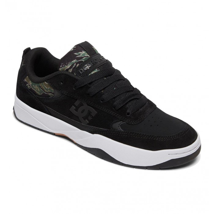 DC Shoe Co Penza SE Black Camo Print Skate Shoes