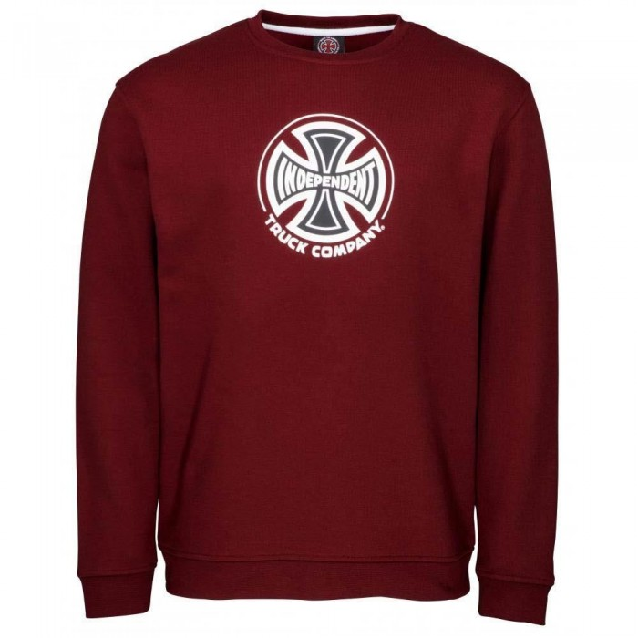 Independent Truck Co Crewneck Sweatshirt Burgundy