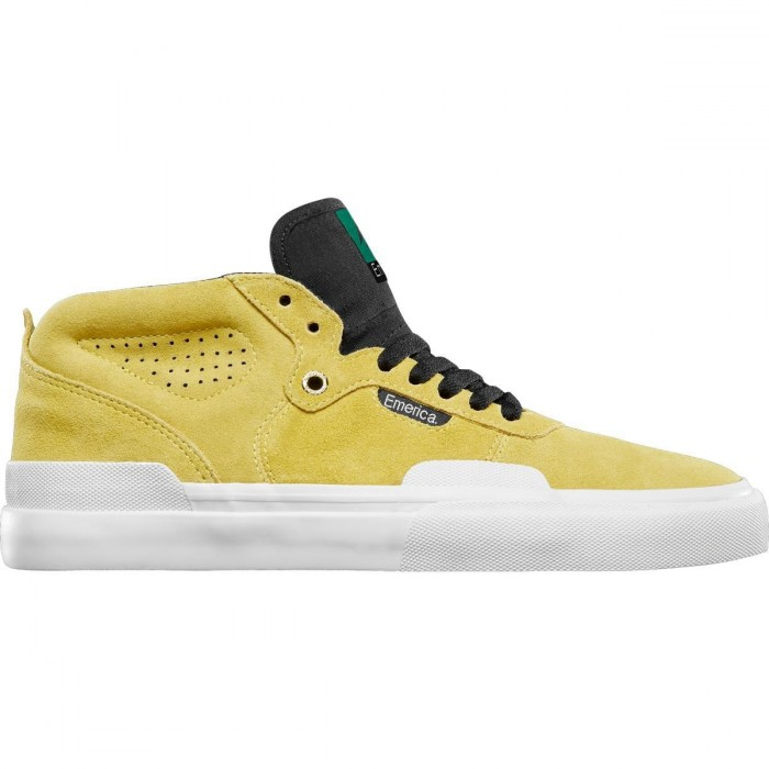 Emerica Footwear Pillar Yellow Skate Shoes