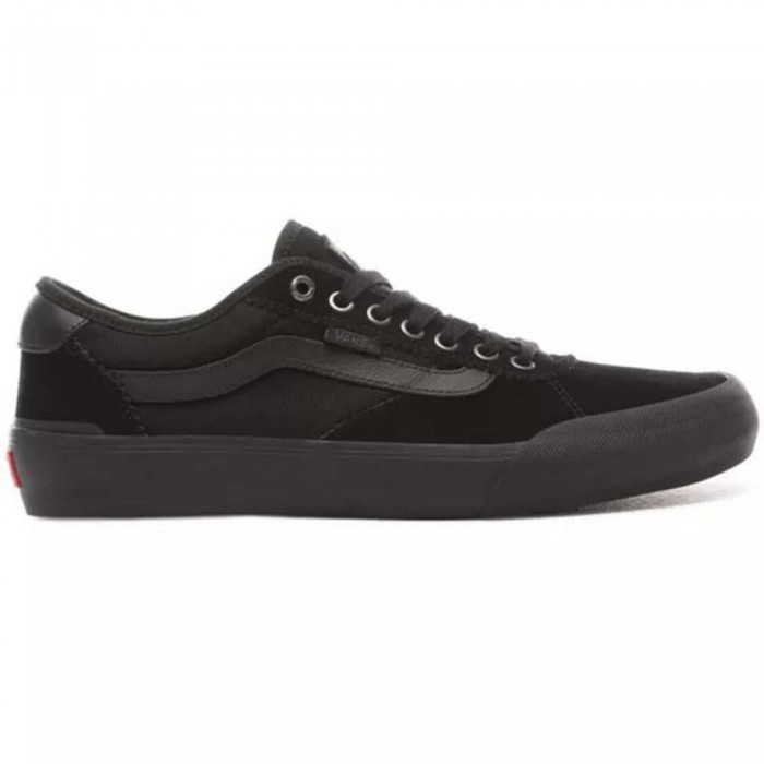 Vans Chima Pro 2 Suede Blackout Skate Shoes