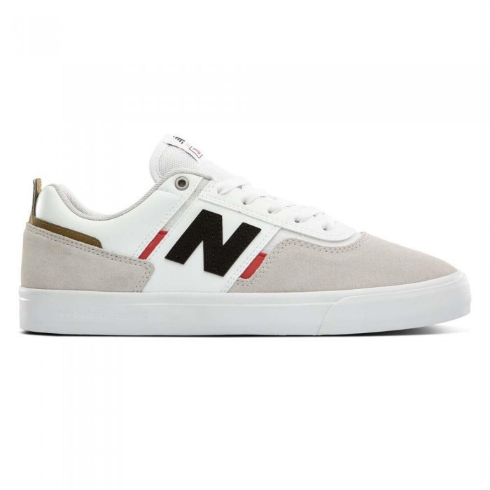 New Balance Numeric 306 Foy White Red Skate Shoes