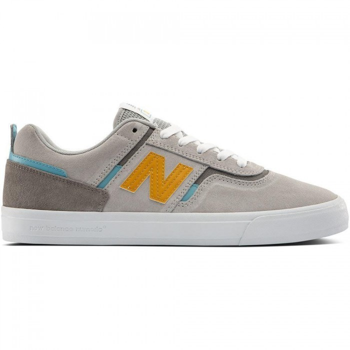 New Balance Numeric 306 Foy Grey Yellow Skate Shoes