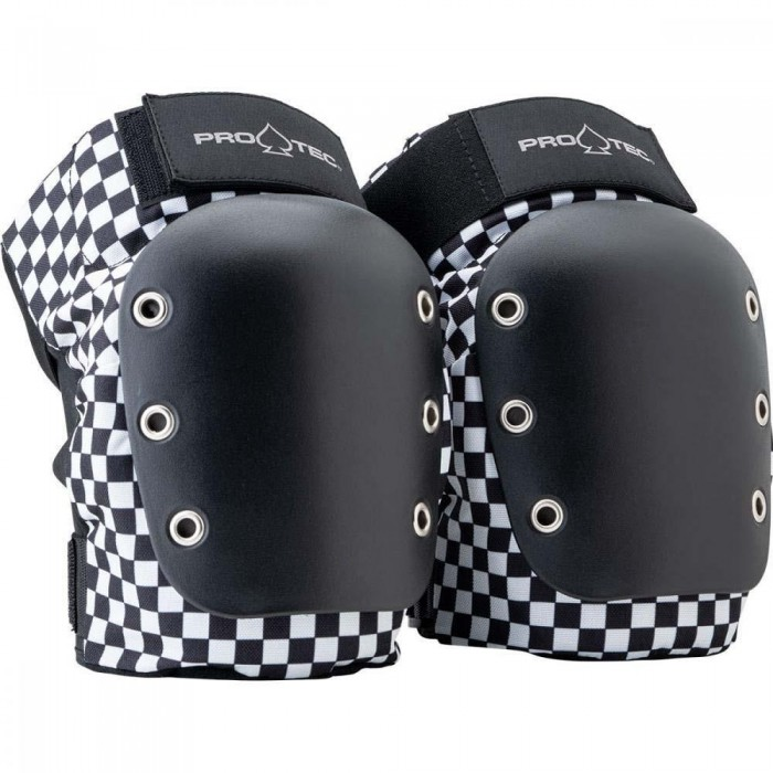 Pro-Tec Pads Street Knee Pad JR Open Back Checker Y YOUTH