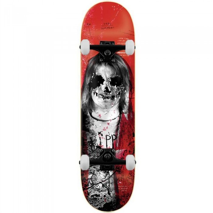Zero Summers 27 Club Complete Skateboard Red 8.25""