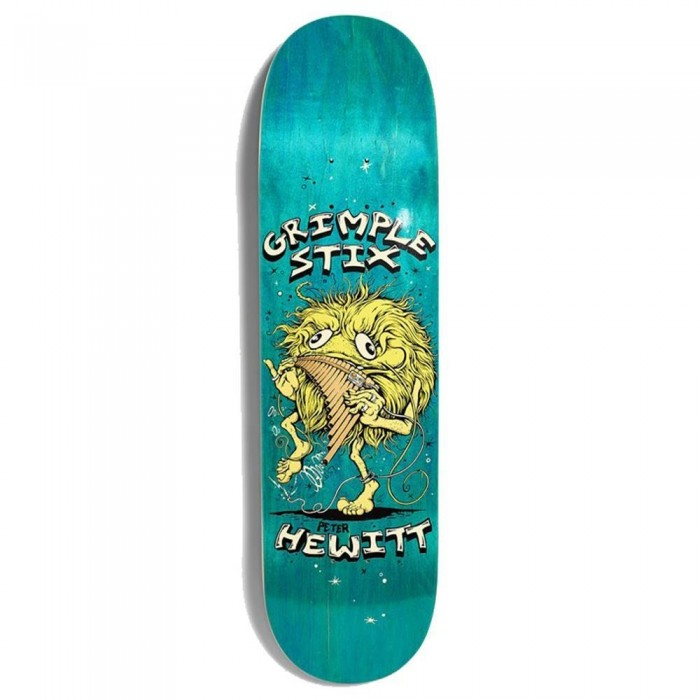Anti Hero Grimple Hewitt Family Band Skateboard Deck Multi 8.25""
