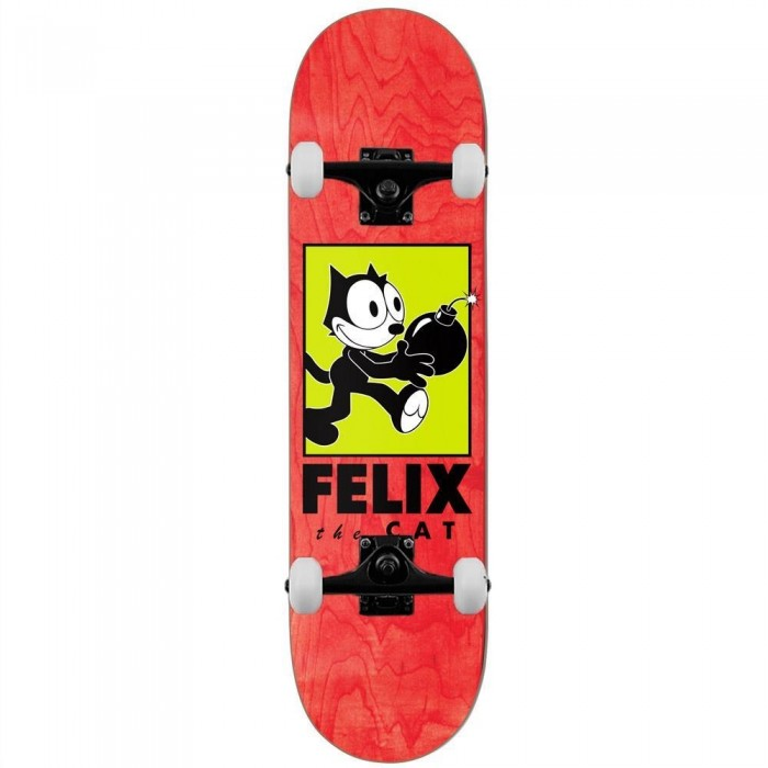 Darkstar Felix Delivery Complete Skateboard Red 8""