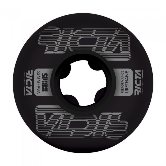 Ricta Wheels Framework Sparx Skateboard Wheels 99a Black 53mm