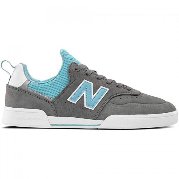 New Balance Numeric 288 S Grey Blue Skate Shoes